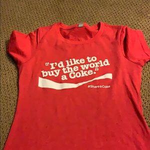 coca-cola t shirt